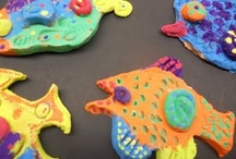 ArtEd- Clay fish