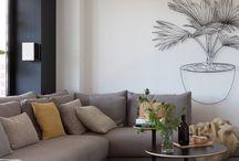Sofás con cojines / Cambia el aspecto de tu sofá con este catálogo de cojines.