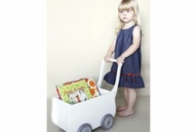 Wooden doll strollers / Wooden strollers, puschairs, carts