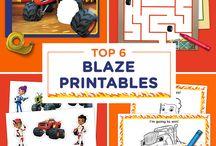 blaze printables