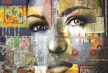 Christine Péloquin / Collage & Peinture
