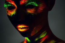 fluo make up