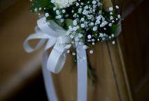 Bryllup - blomsterpynt