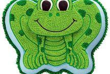 Frog Cake Design