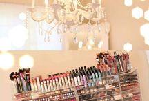 Salon room makeover