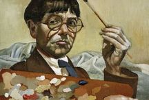 Stanley Spencer / My all time hero for his detail, colour and vision.
