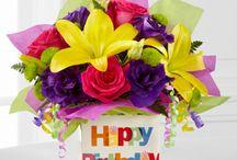 Happy Birthday / Send flowers to say Happy Birthday!