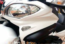 Suzuki Burgman 650 WRAPPING BIANCO OPACO