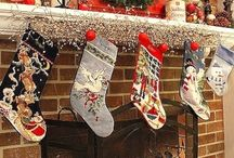 Holiday/Mantel Displays / by Tamara Heather