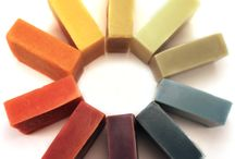 natural soap colors