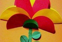 kwiatek z kolek
