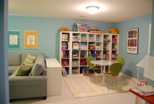 Family basement ideas / #design and #decor ideas for our basement