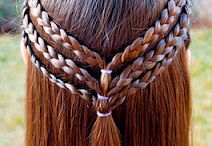 Girly Girl Hair Do's / by Cadischa Lampe