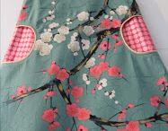 robe trapèze réversible pour Loulou