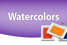 watercolor videos / by Peggy Angelicola