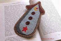 Zakładki do książek - Rękodzieło/ Handmade bookmarks
