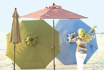 Stay in the Shade! / Unique ways to add a little shade to the outdoors. Patio umbrellas, tents, sunshades and even some not-so-obvious ways to shade yourself from the sun.  / by Improvements Catalog