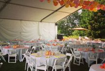 DIY Backyard Wedding / Fearon May Events specializes in Backyard weddings all over the world.