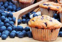 Baking W Blueberries