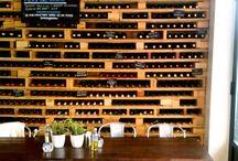Rangement de bouteille de vin