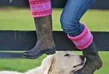 boot cuffs / socks
