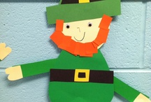 School: March / education ideas for the month of March - Dr. Seuss, St. Patrick's Day, etc