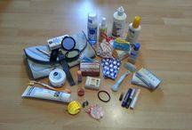 Equipement: beauté et santé / Accessoires et produits de beauté/santé pour être belle en voyage