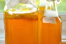 Drinks: Fermented Kombucha, Kefir,