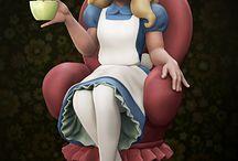 Alice in Wonferland theme