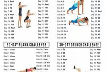 Project Exercise / gradual inclination to exercise and encouragements to stay fit