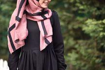 Cute hijab to sew!