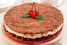 Еда - десерты