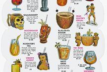Hawaiian Tropical Cocktails