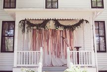 Outdoor Wedding Ideas / Outdoor weddings can take a bit of extra planning, but with the right lighting and decor, they can be some of the most beautiful weddings you've ever seen! / by Jessika Feltz | Jupiter and Juno