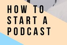 Podcast Tips for Entrepreneurs & Bloggers / Podcast tips for entrepreneurs and business owners. Start a podcast and grow your reach.  How to start a podcast and how to grow the podcast.