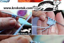knitting flowers