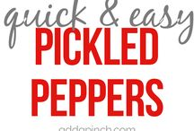 pickled peppets