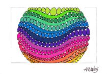 2015 Color Drawings / My new works in color.....