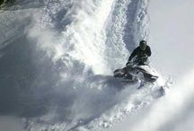 snowmobiles / by Michael Townsend