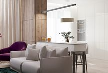 Two-rooms apartment in pastel colors for a couple in Kyiv