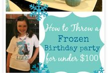Frozen Birthday Party / by Misty Meade