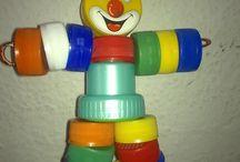 brinquedos reciclável