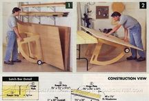 Plywood panel mover.