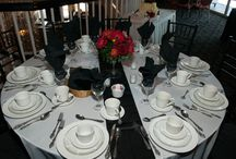 my wedding / pics and ideas from my wedding on 4/5/14. It was a casino theme and the colors were red, black and white.
