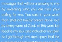 prayer and verses
