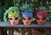 vasi fiori piante