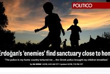 "Politico: Οι ""εχθροί"" του Ερντογάν βρίσκουν καταφύγιο στην Ελλάδα"