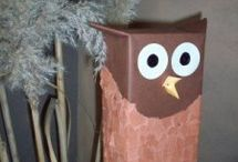 Owl craft idea for kids / this page has a lot of free Owl craft idea for kids,parents and peschool teachers.