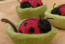 Neddle Felting - Bugs