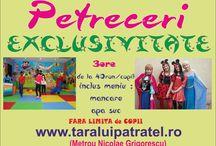 petreceri copii / Locul unde copiii se simt minunat !!! www.taraluipatratel.ro